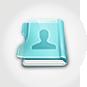 contact book, kontaktbok